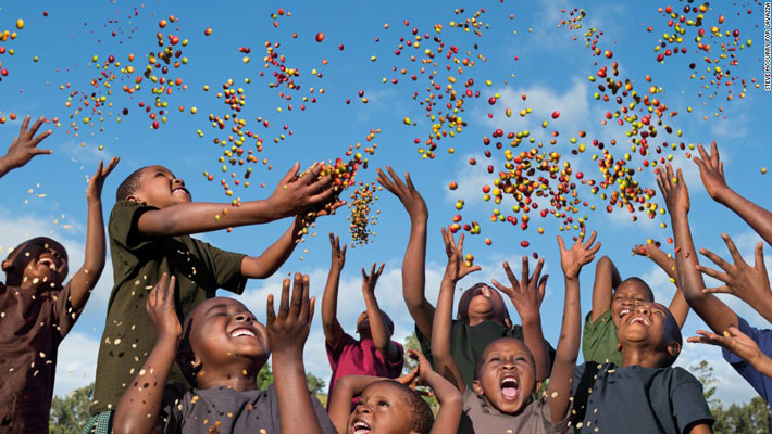 موسیقی در میان کودکان آفریقا