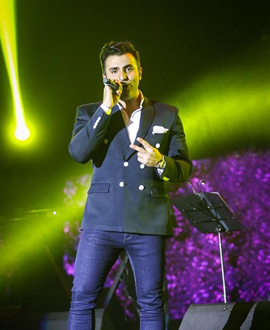علیرضا طلیسچی در نهمین شب از جشنواره موسیقی فجر