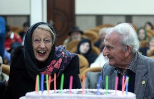 مراسم تجلیل و جشن تولد تعدادی از هنرمندان پیشکسوت متولد بهمن ماه ا