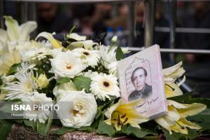 مراسم تشییع پیکر زنده یاد بزرگ لشگری آهنگساز و نوازنده