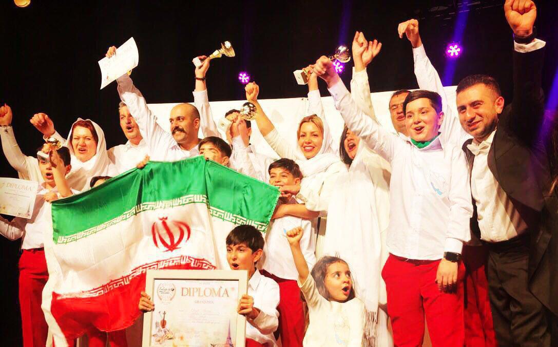کودکان ایران شگفتی ساز فرانسه شدند