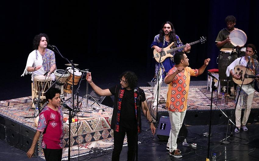 محمد بحرانی خواننده گروه لیان شد