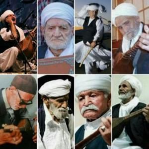 شبیهسازی مجسمههای مومی اساتید موسیقی مقامی خراسان